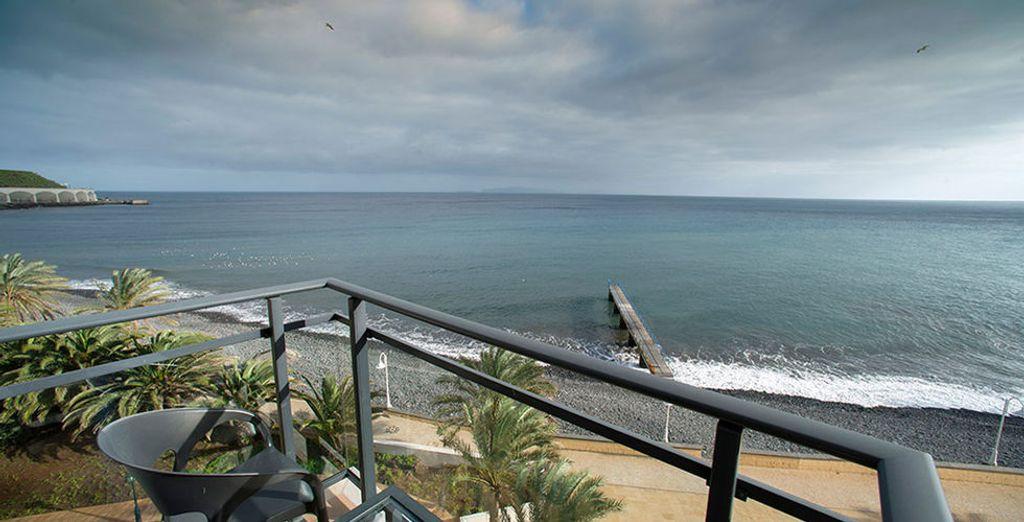 Selon votre choix, vous profiterez d'une vue mer imprenable