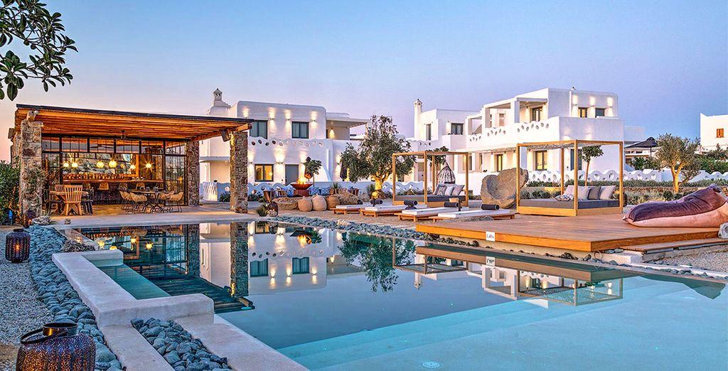 Hôtel Portes Mykonos Suites & Villas 4* avec Voyage Privé
