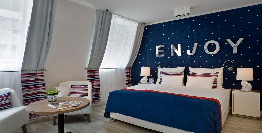 Chambre d'hôtel 4* tout confort à Budapest, à proximité de toutes activités