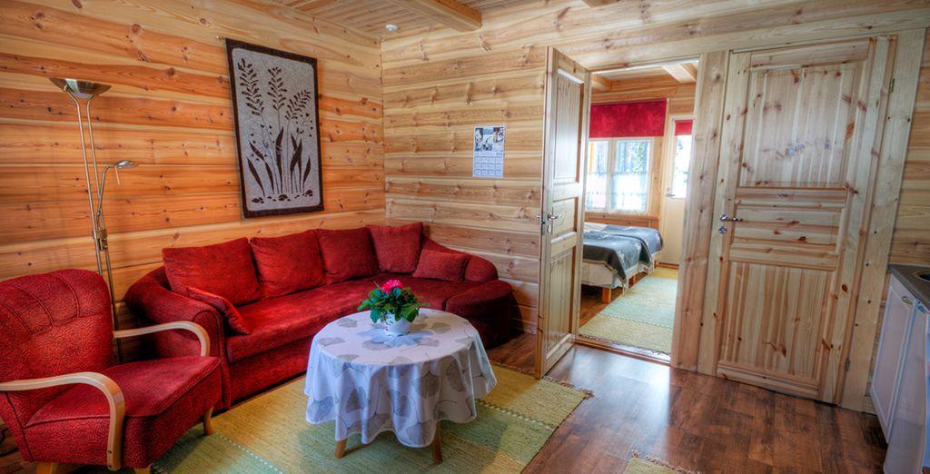 Votre hébergement typique sera même équipé d'un sauna