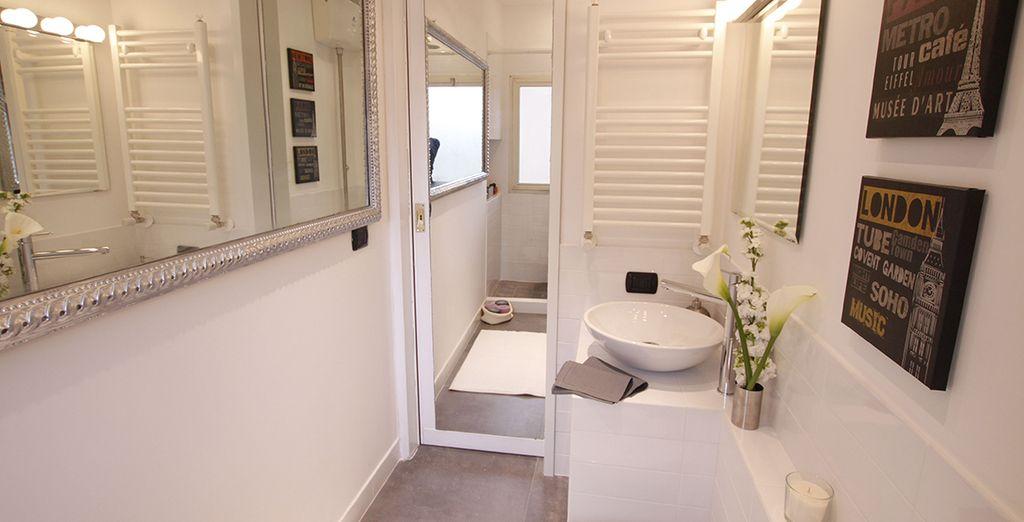 La salle de bains moderne