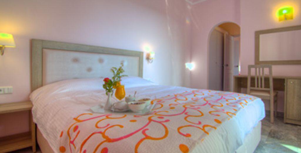 - Hôtel Dias Solimar *** - Adele Rethymnon - Crète Rethymno