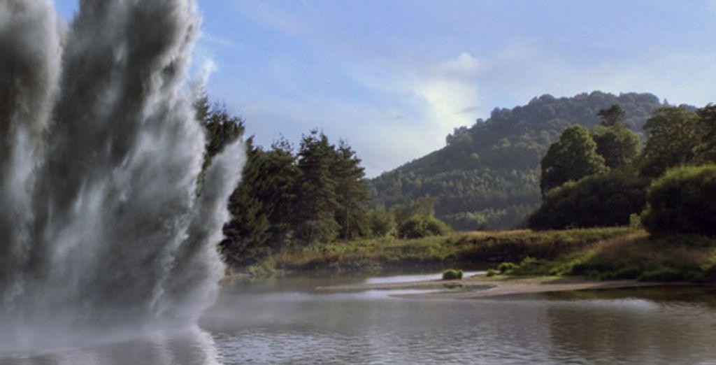 Explosion phréatique au Parc Vulcania