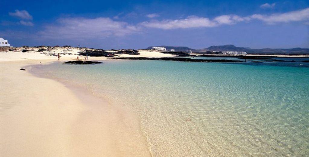 Une plage de Fuerteventura