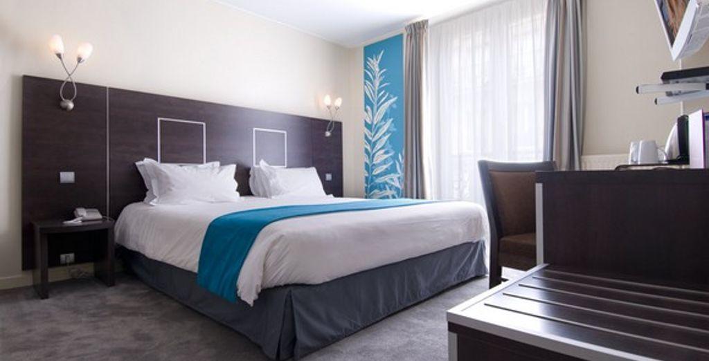 Une chambre Premium - Hôtel Cervantes *** Paris