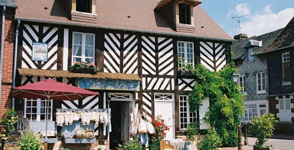 Honfleur et ses maisons à colombages