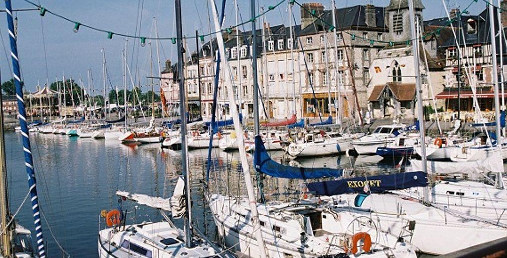 Honfleur et son port - Résidence Goelia Les Portes d'Honfleur Boulleville