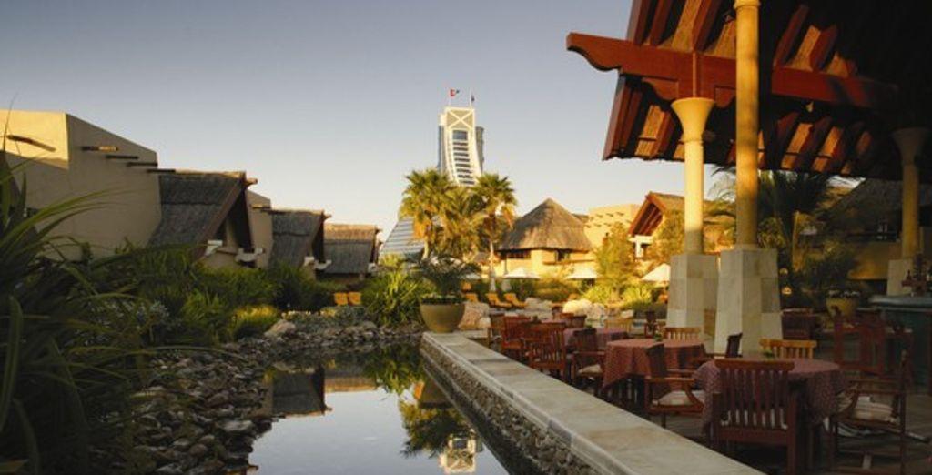 La terrasse - Jumeirah Beach Hotel ***** Dubai