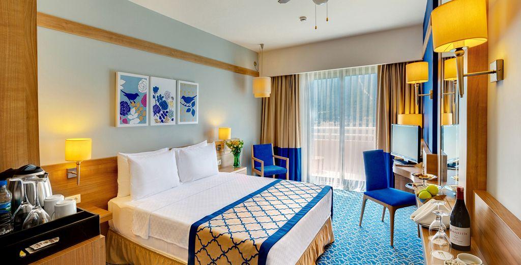 Votre chambre sera un véritable petit écrin de bien-être