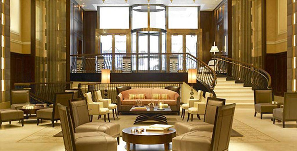 Dans l'un de ses plus beaux hôtels... - Hôtel The Carlton **** New York