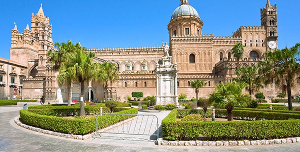 Découverte de Palerme, sa cathédrale... - Autotour Sicile 8 jours/7 nuits en hôtels ***** Catane