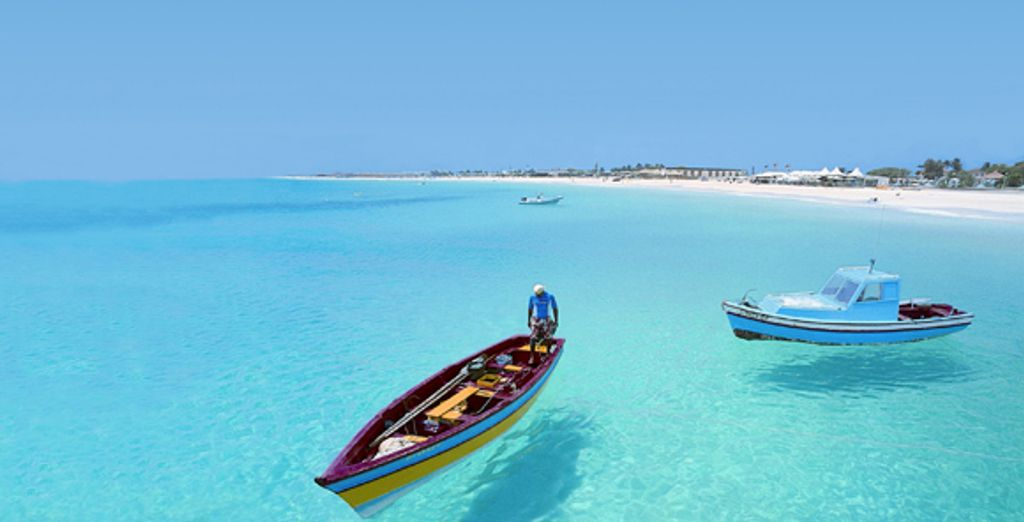 Bienvenue au Cap Vert ! - Hôtel Riu Touareg ***** Boa Vista
