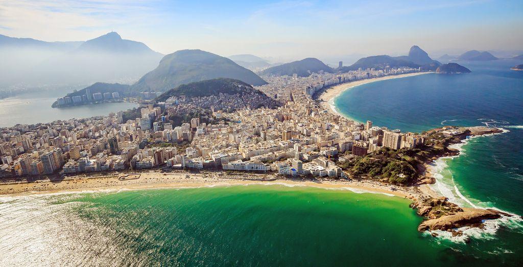 Ne manquez pas de rejoindre Rio de Janeiro à 1h30 de route de votre hôtel