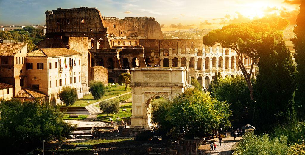 Venez découvrir les merveilles de Rome