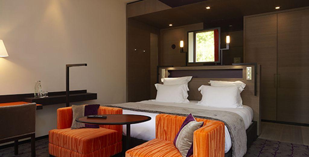 Confort et ambiance colorée dans votre chambre Supérieure