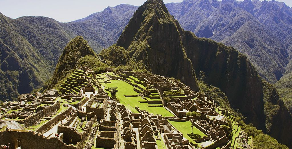Tel que le site légendaire du Machu Picchu