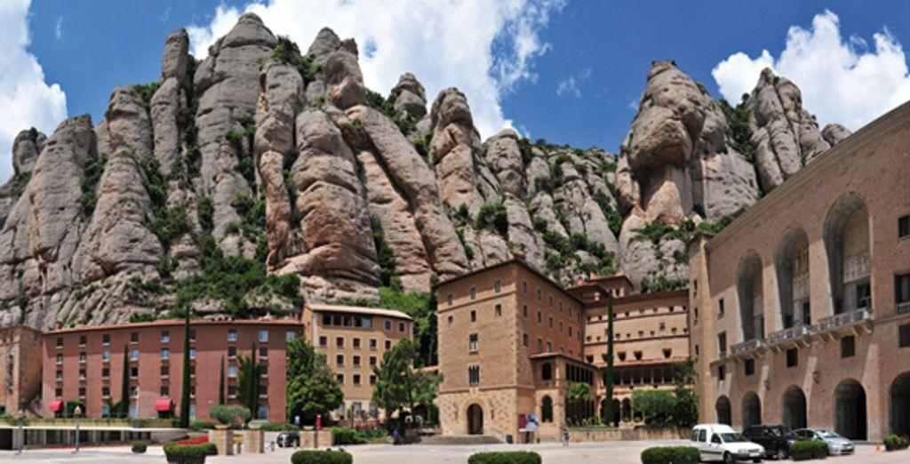 Avant de retourner en Castille en passant par le monastère de Montsserat