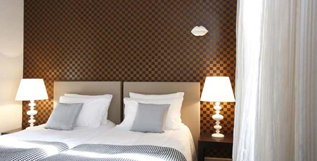 Admirez le chic de la chambre Supérieure - Hôtel Jules **** Paris