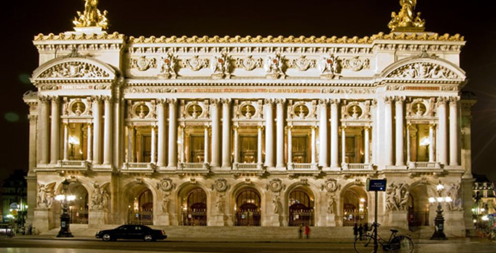 Visitez l'Opéra Garnier