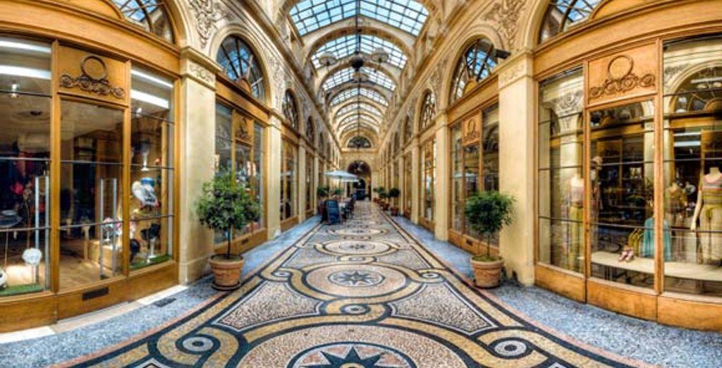 Séance shopping dans la Galerie Vivienne