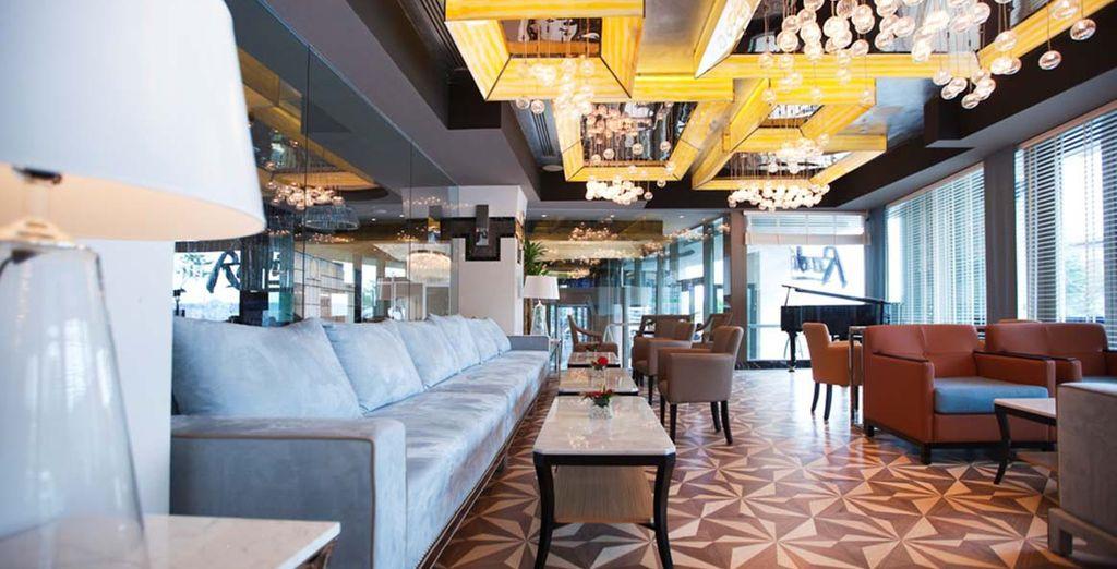 A l'Hôtel Radisson Blu Pera - Hotel Radisson Blu Pera 5* Istanbul