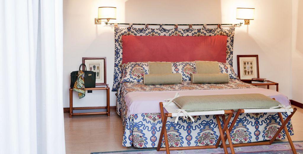 Installez-vous dans votre chambre, cosy & confortable...