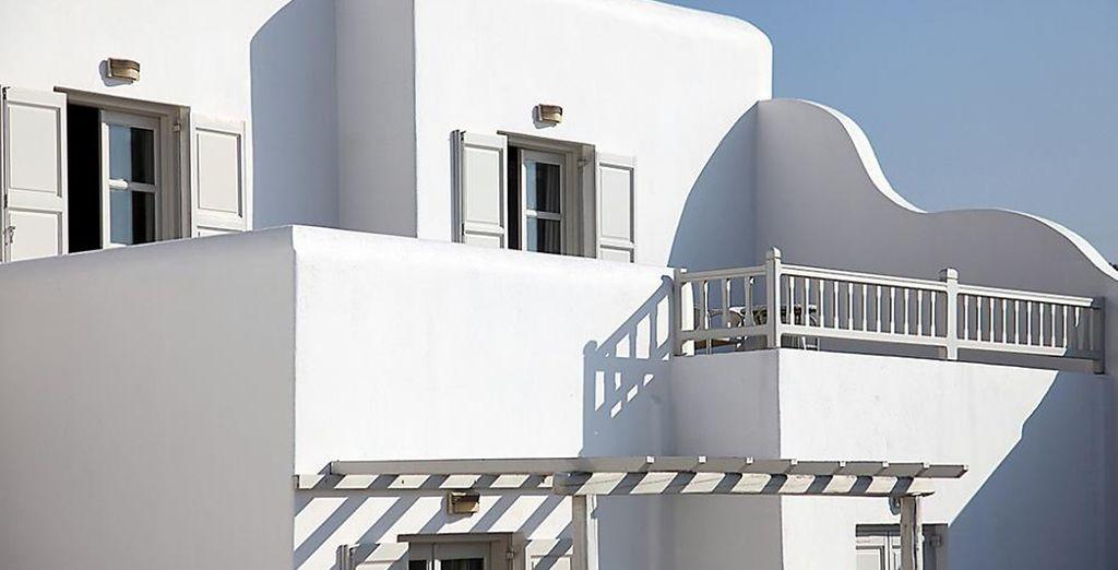 Appréciez la vue depuis votre balcon...