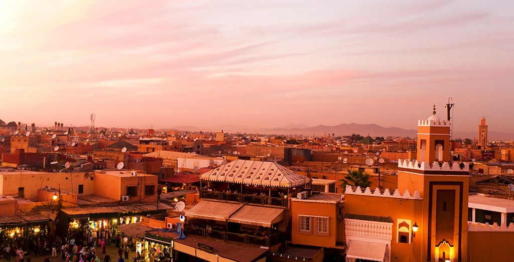 Découvrez Marrakech avec Voyage Privé