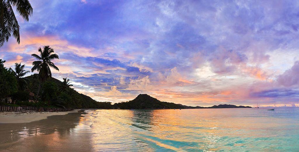 Et voguez sur les eaux turquoise de l'océan Indien