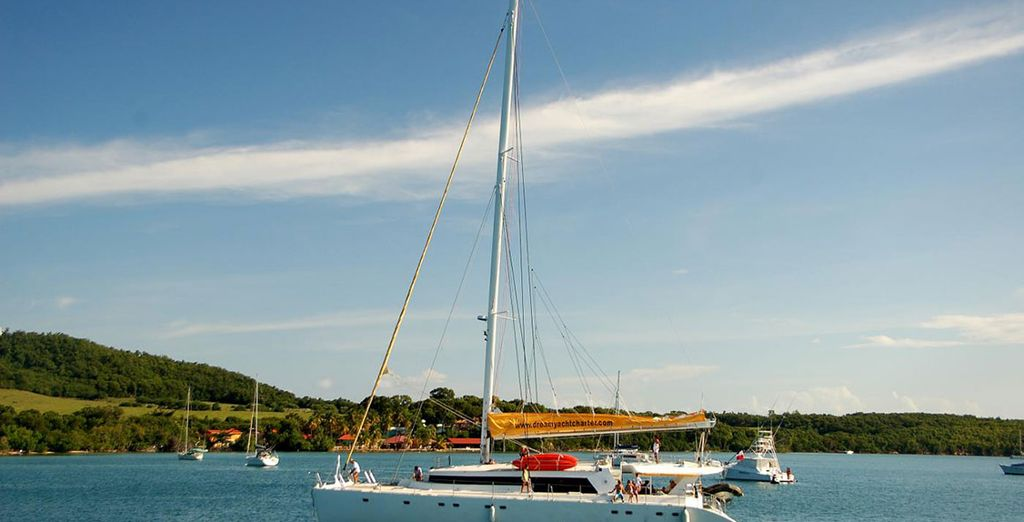 Vous rêvez d'une semaine de farniente sur un catamaran...