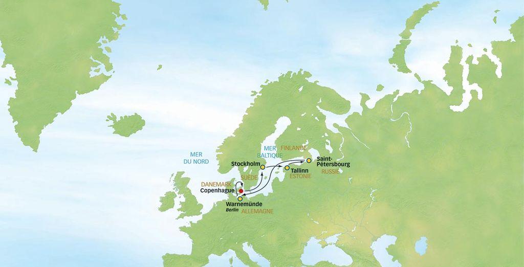 Pour une croisière découverte des capitales de la Baltique