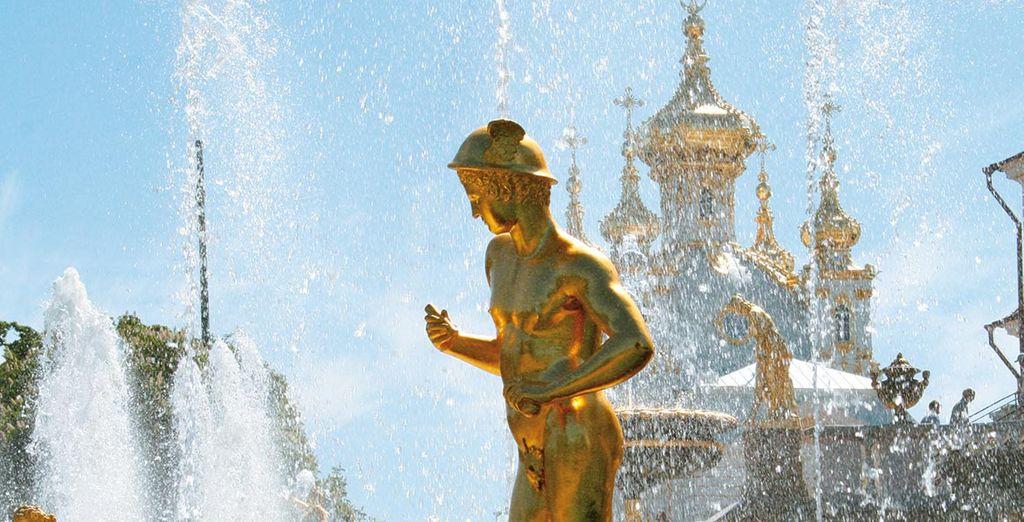Saint-Pétersbourg vous émerveillera...