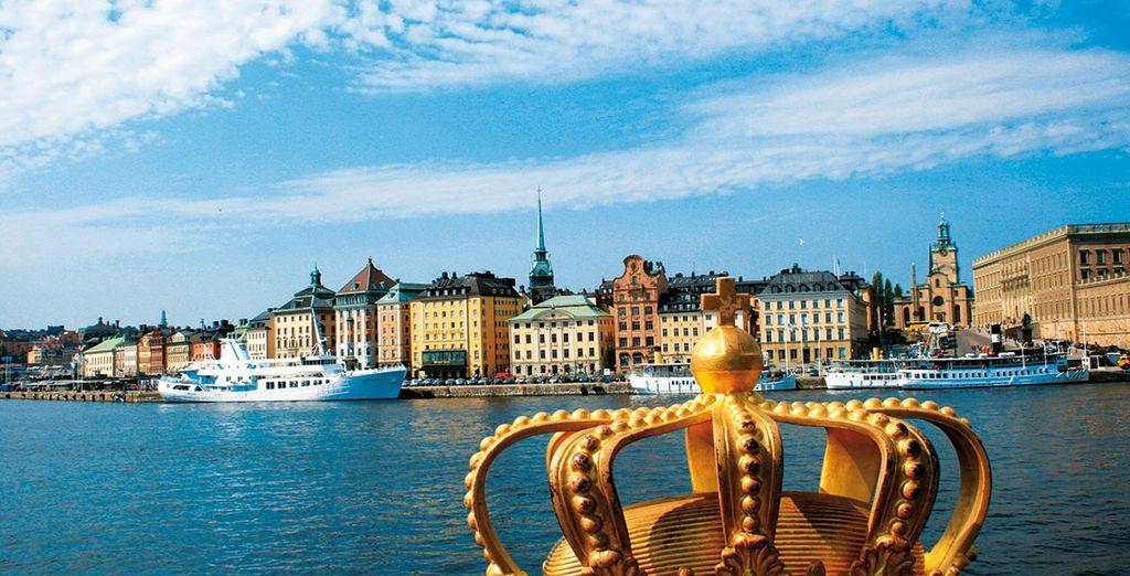 Et la majesté de Stockholm vous surprendra !