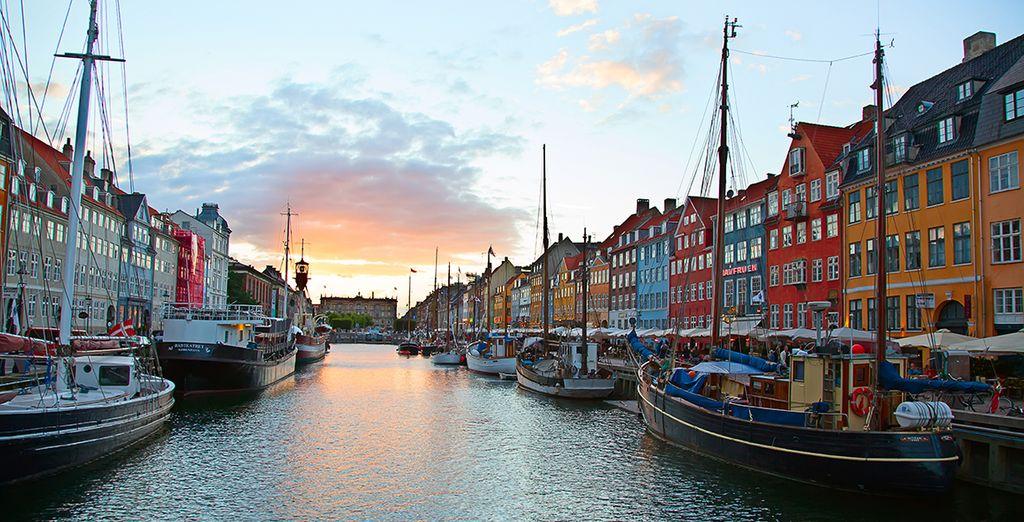 Direction Copenhague...