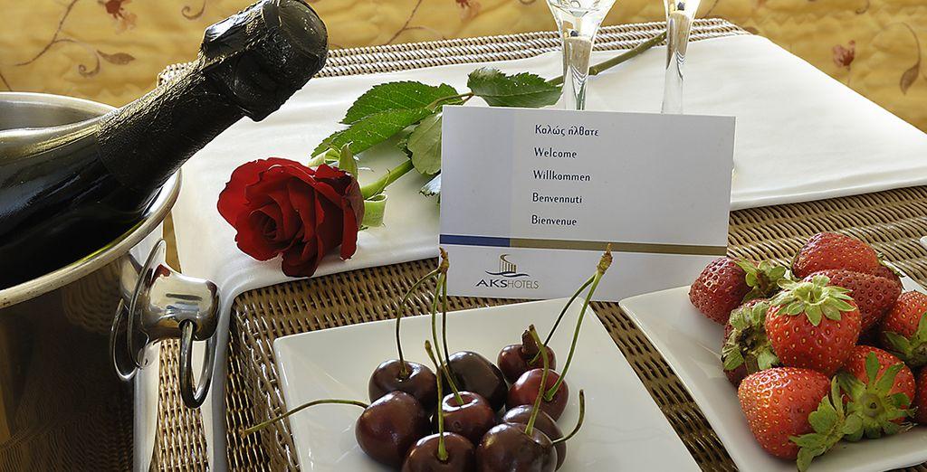 Vous aurez l'occasion de goûter la cuisine méditerranéenne typique...