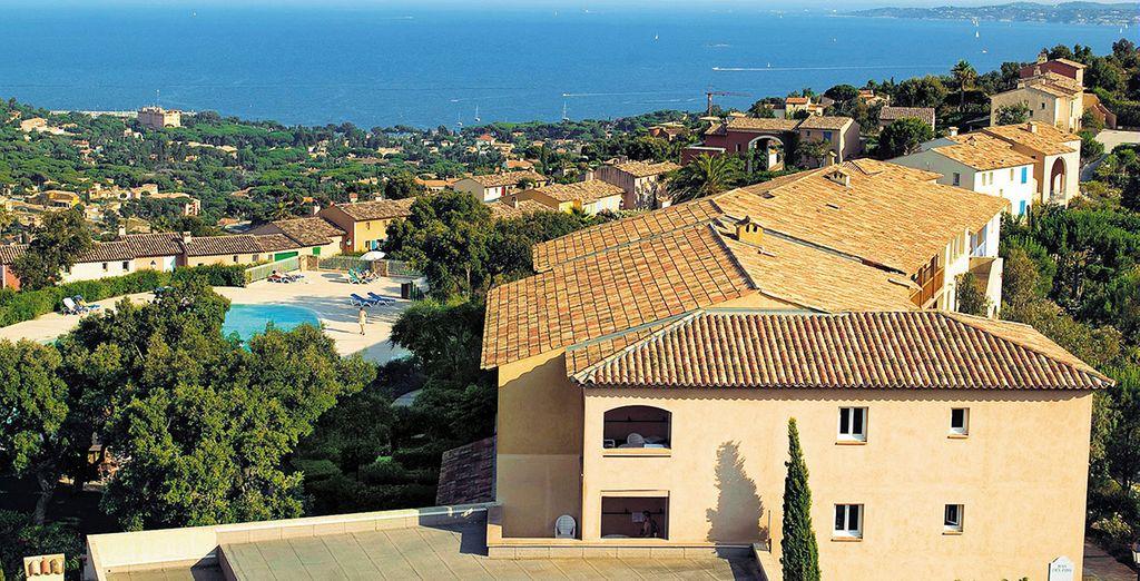 Construit dans un style typiquement provençal