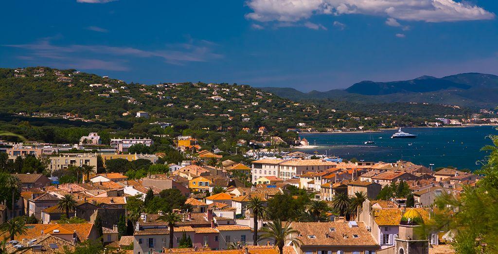 Saint-Tropez n'est qu'à quelques kilomètres