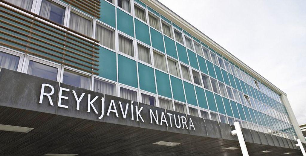 Si vous séjournez au mois de novembre, c'est le Natura hotel Reykjavik que vous découvrirez