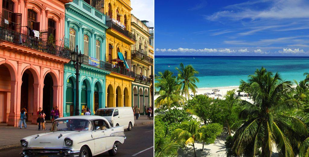 Votre coeur s'emballe devant l'ambiance cubaine ? Alors partez pour un combiné entre ville et plage