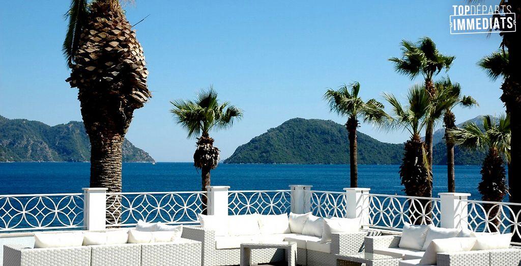 Laissez-vous tenter par l'hôtel Ideal prime 5*... - Hôtel Ideal Prime Beach 5* et /ou Croisière Marmaris-Fethiye 7 nuits Marmaris