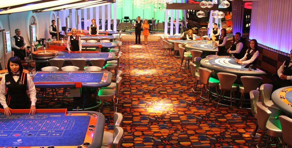 Un détour au casino...