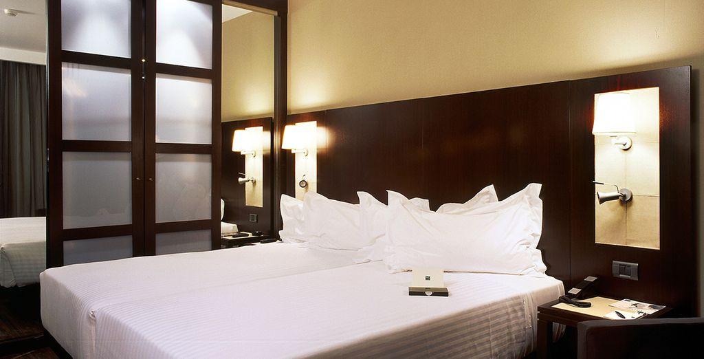 Installez-vous dans le confort d'une chambre Standard