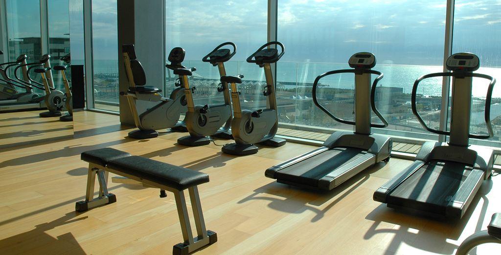 Rendez-vous sportif dans la salle de fitness