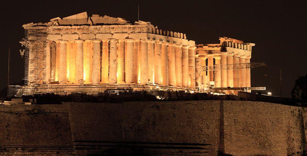 ... Plongez dans la Grèce antique...