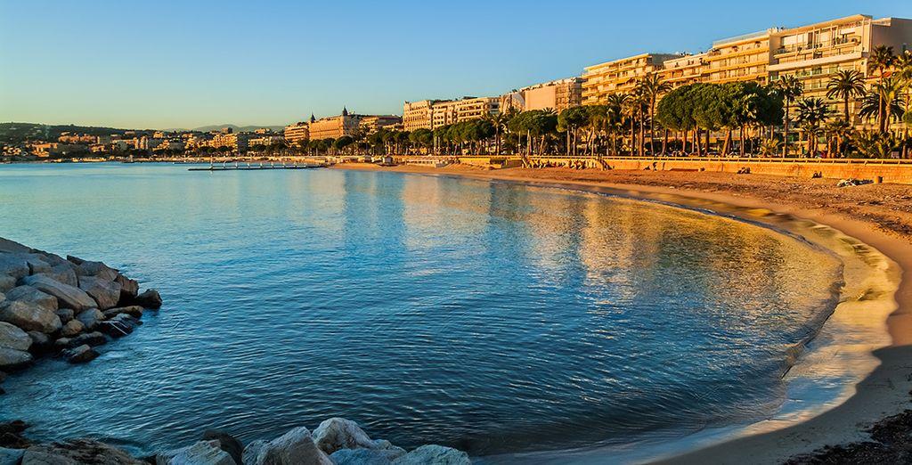 Et parcourir la plage de Cannes !