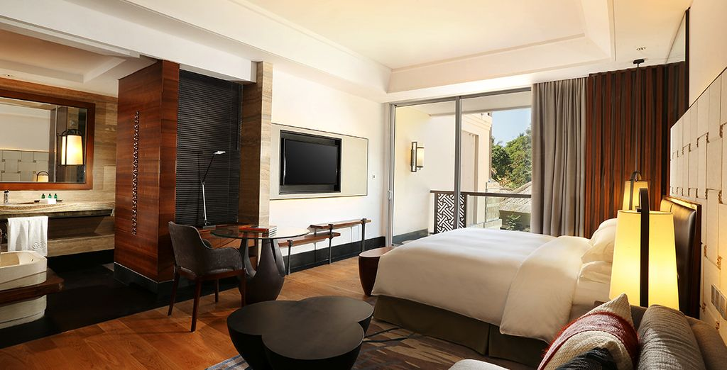 Votre chambre Luxury sera votre petit nid douillet pour quelques nuits inoubliables