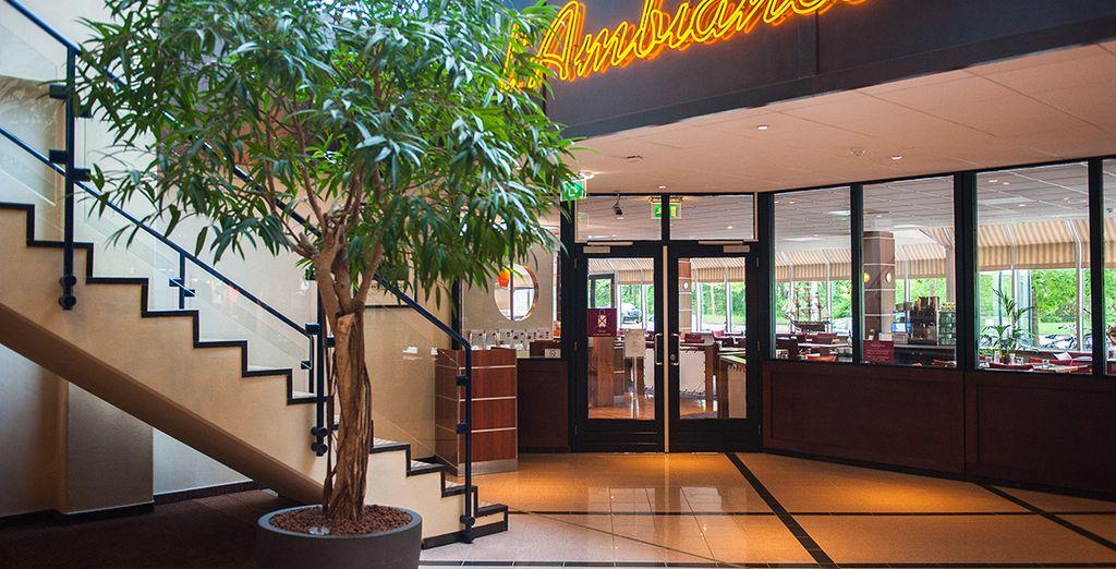 Les 3 restaurants de l'hôtel vous accueillent