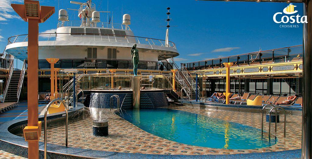Embarquement immédiat à bord du Costa Méditerranée...