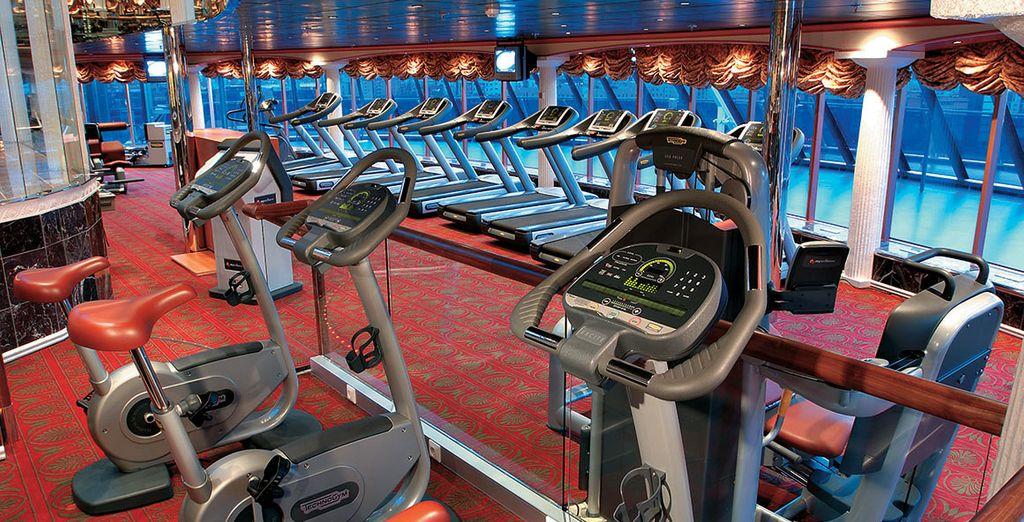 Sa salle de Gym...