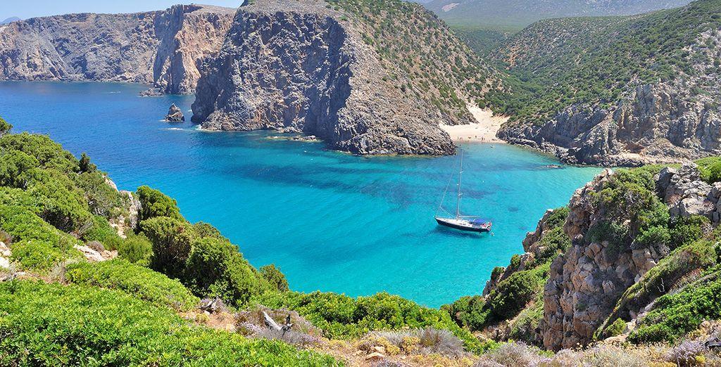 Et idéalement situé pour découvrir la Sardaigne !